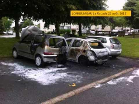 Sécurité longjumeau, voiture brulée, bilan de la municipalité sortante