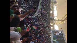 Indian fan celebration after bangladesh wicket || ind vs ban asia cup final live 2018