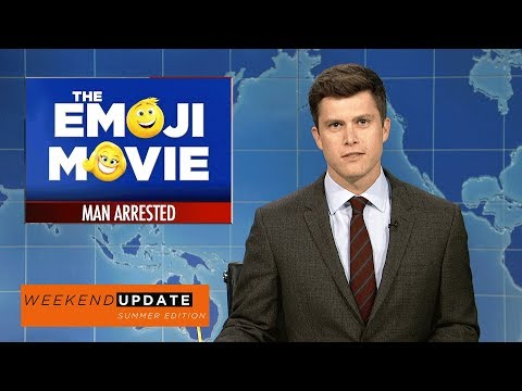 Download Youtube: Weekend Update on A Man Arrested at the Emoji Movie - SNL