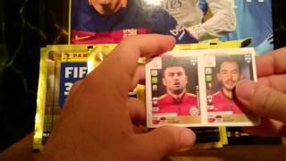 Panini Fifa 365 packs opening #1