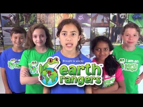 Earth Ranger Kids are Taking Action to Save Animals