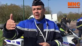 Airbag moto : qu'en pense la police ?
