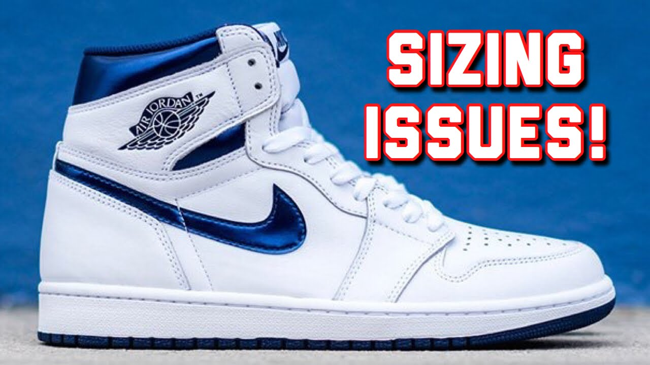 newest 2c10e 80f1d SIZING ISSUES ON JORDAN 1's!