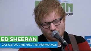 "Ed Sheeran - ""Castle on the Hill"" Acoustic 