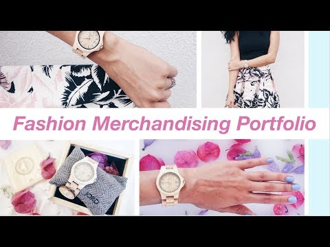 How to Create a Fashion Merchandising Portfolio - I'm Back!