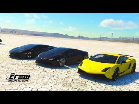 The Crew Cau Lamborghini Gallardo Vs Lamborghini Huracan Vs