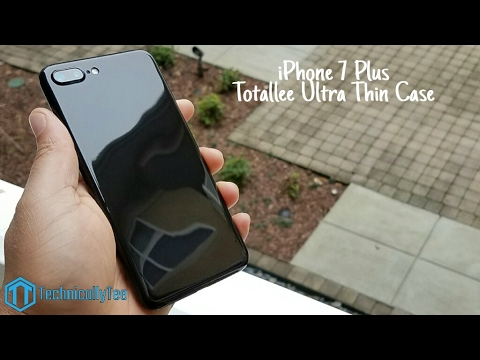 5bba3bcb60 iPhone 7 Plus Totallee Ultra Thin Case Review! - YouTube
