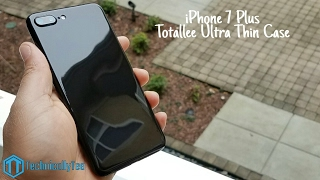 iPhone 7 Plus Totallee Ultra Thin Case Review!