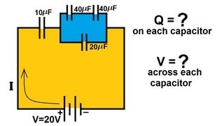 Physics - Capacitors (6 of 8) Capacitors in Series and Parallel 4/4