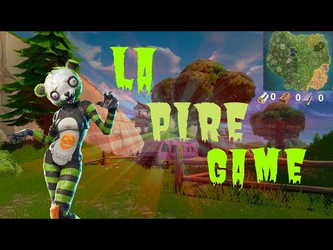 LA PIRE GAME SUR FORTNITE BATTLE ROYAL !