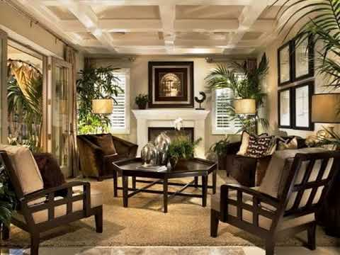 West Indies British Colonial Living Room Youtube