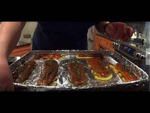 Catch And Cook BLUEFISH, 2 Glaze Recipes 釣魚 烤魚