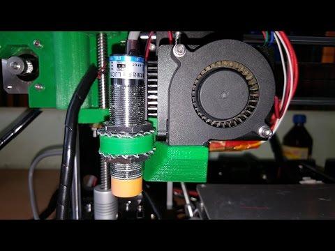 Автокалибровка стола 3D Printer Prusa I3 A8