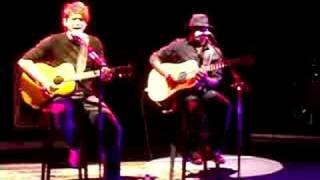 john mayer   acoustic split screen sadness