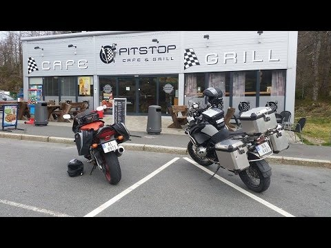 Norway to Sweden on a BMW R1200GS Adventure and a Honda Fireblade