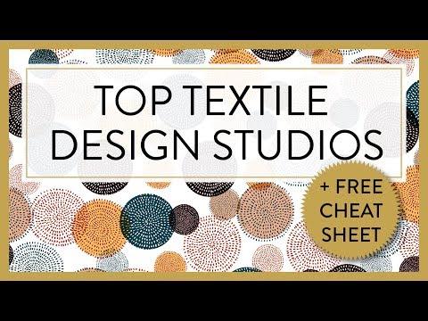 TEXTILE DESIGN :P TOP TEXTILE DESIGN STUDIOS 2017 / 2018