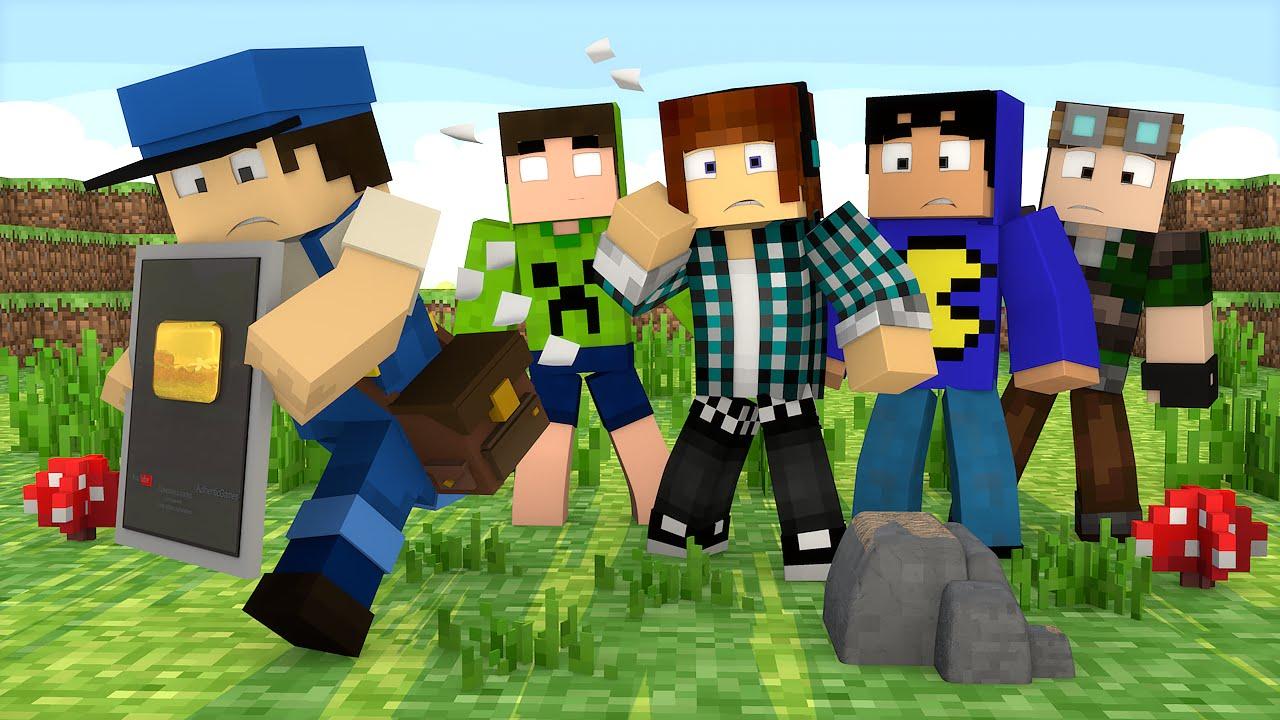 Minecraft: A PLACA DO YOUTUBE SUMIU !!