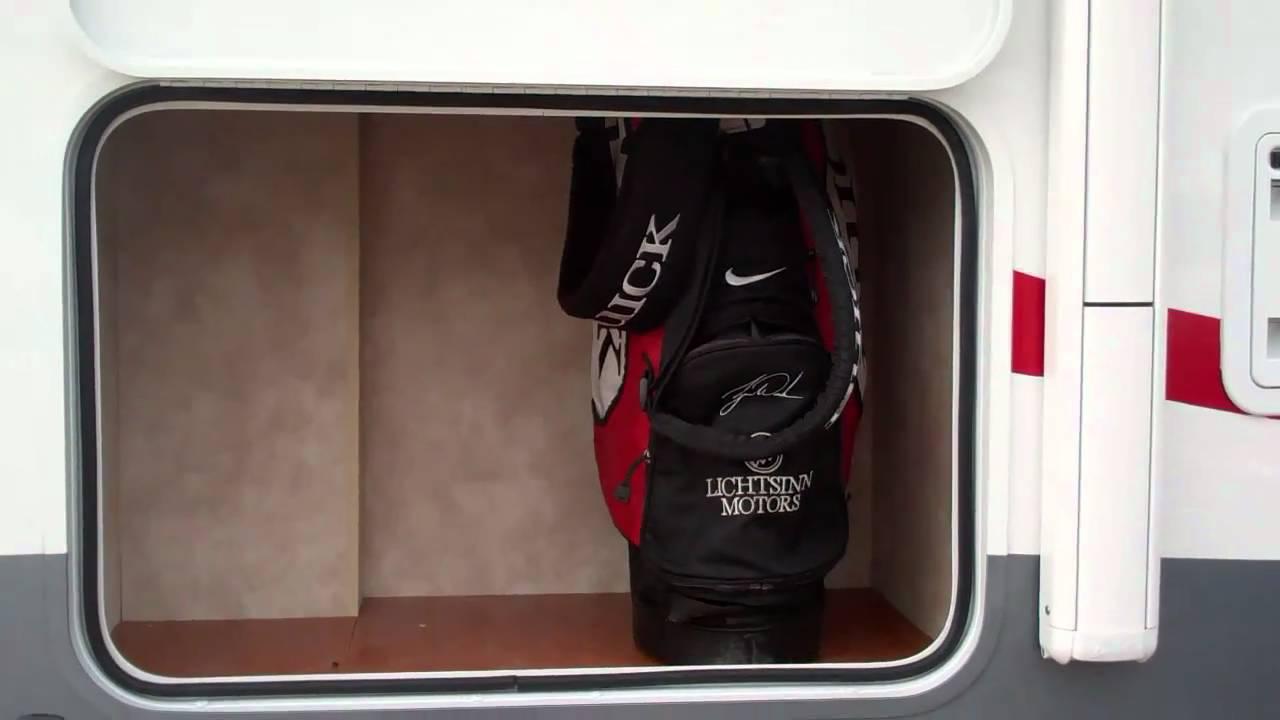Golf Club Storage   Winnebago View 24K Storage