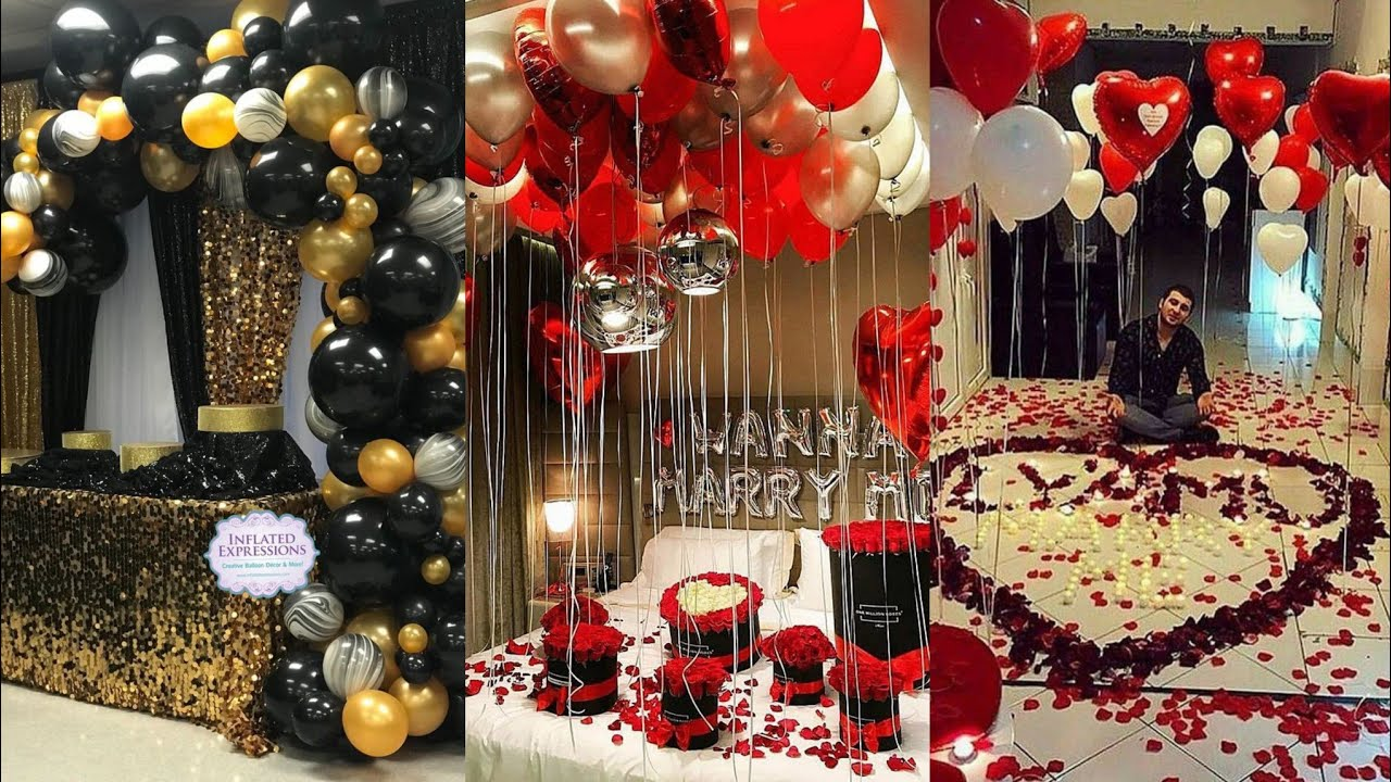 Wedding Anniversary Decoration Ideas At Home Romantic Room Decor Ideas Valentine Decor Idea Youtube