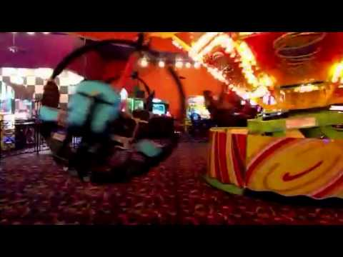 Twister Ride at John's Incredible Pizza in Riverside - YouTube