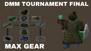 I had some of THE BEST GEAR / DMM Invitational $32,000 Final Runescape OSRS 2018