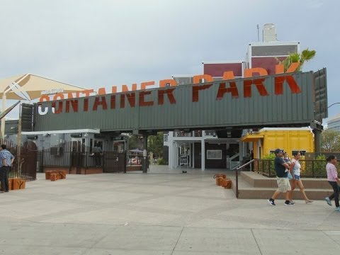 Container Park Downtown Las Vegas, Nevada HD