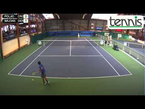 POLJICAK (CRO) vs MAJDANDZIC (GER)- Open Super 12 Auray Tenn