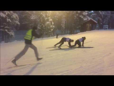 Levi Ski relays funny relays, Northug style