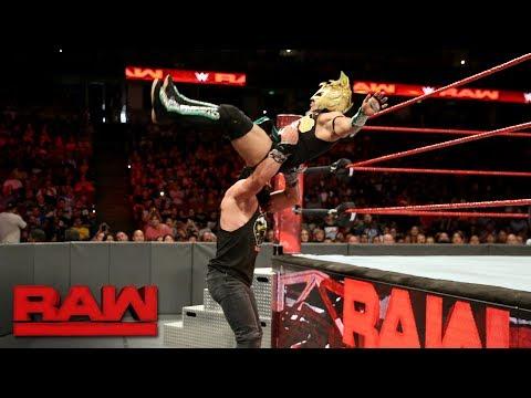 Kalisto vs. Elias: Raw, Sept. 11, 2017