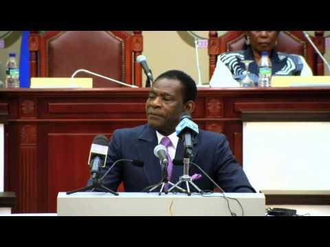 DISCURSO DE S.E TEODORO OBIANG NGUEMA MBASOGO 07.NOV.2014