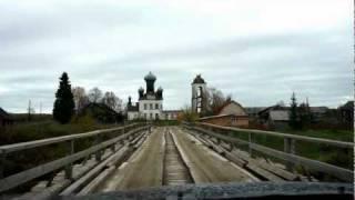 По деревянному мостику в Кенозерье.m2ts(Кенозерье,Архангельская область., 2011-10-08T06:37:40.000Z)