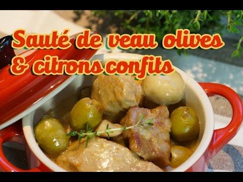 Recette de p ques facile saut de veau olives cr me et - Youtube herve cuisine ...