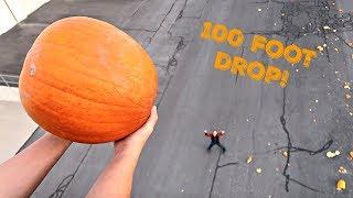 DROPPING PUMPKINS! 100 Foot Drop