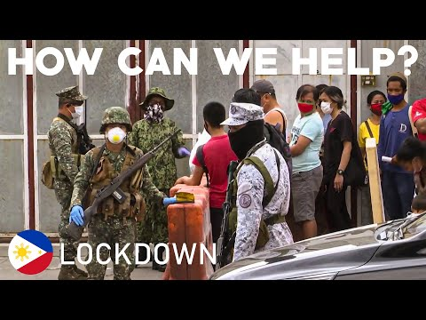 PHILIPPINES FULL LOCKDOWN Millions of Filipinos ordered to stay home COVID19 CORONA VIRUS