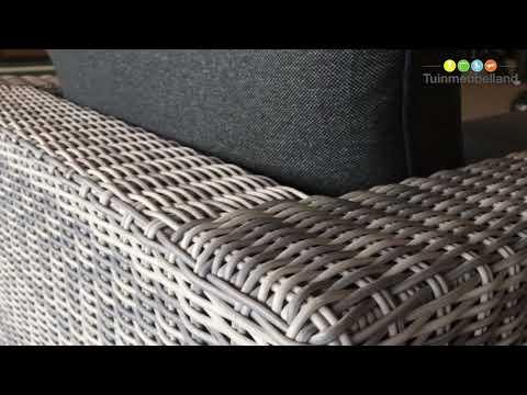 Formiga licht grijs lounge set merk garden impressions youtube