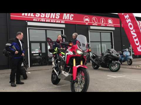 Africa Twin CRF 1000 L new delivery