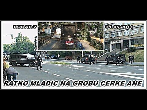 RATKO MLADIĆ-ODVOĐENJE NA GROB  ĆERKE ANE  31.05.2011