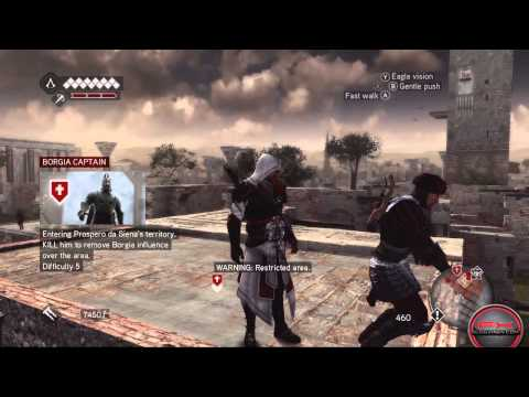 Прохождение Assassins Creed: Brotherhood: 1я часть