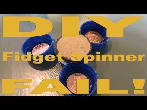 DIY Fidget Spinner Fail!