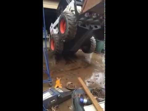 Bobcat 863 fuel leak  YouTube
