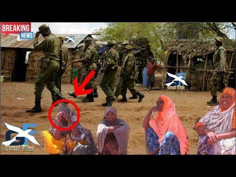 DEG DEG Ciidanka Kenya o saaka Gumaan xoogan ka wada deeganka Ceelwaaq e gobolka Gado Daawo live