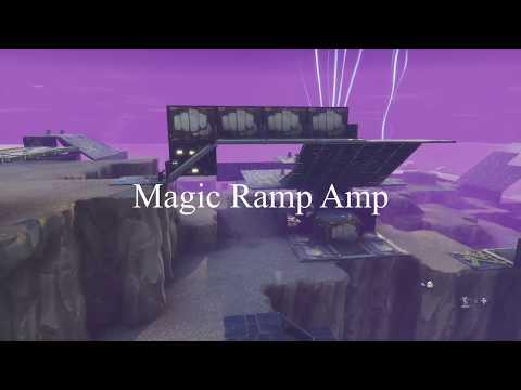 Magic Ramp Amplifier. Twine Peaks Endurance