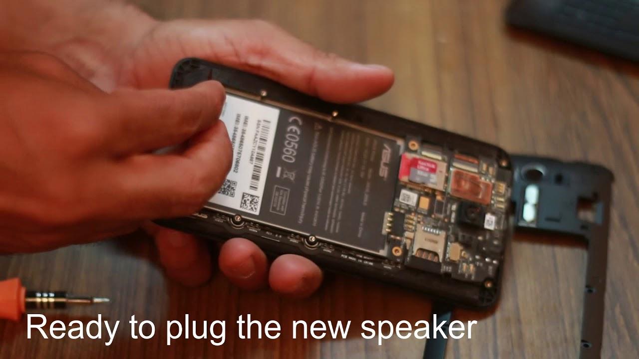How to replace Speaker of Asus Zenfone 2 Laser ZE550ML , ZE551ML Speaker  Replacement