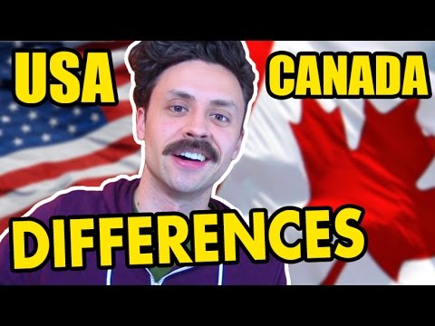 Interesting Differences Between Canada And America
