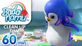 Clean Up Time | Badanamu Compilation l Nursery Rhymes & Kids Songs