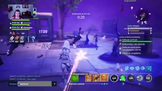 Direct fortnite save the world by completing the new story !!!