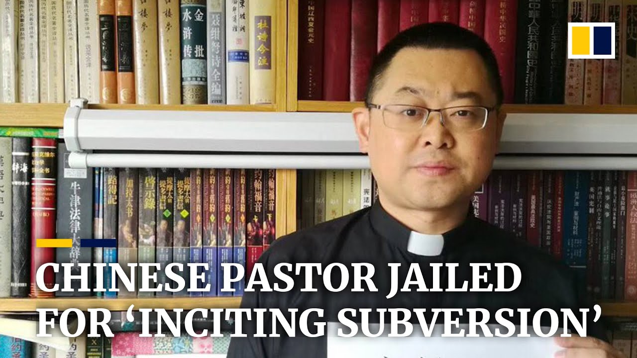 China's Pastor Wang Yi gets nine years in jail for 'inciting ...