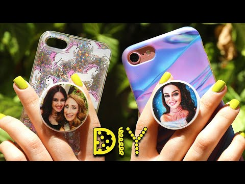 DIY Personalized Photo POPSOCKETS || Lucykiins
