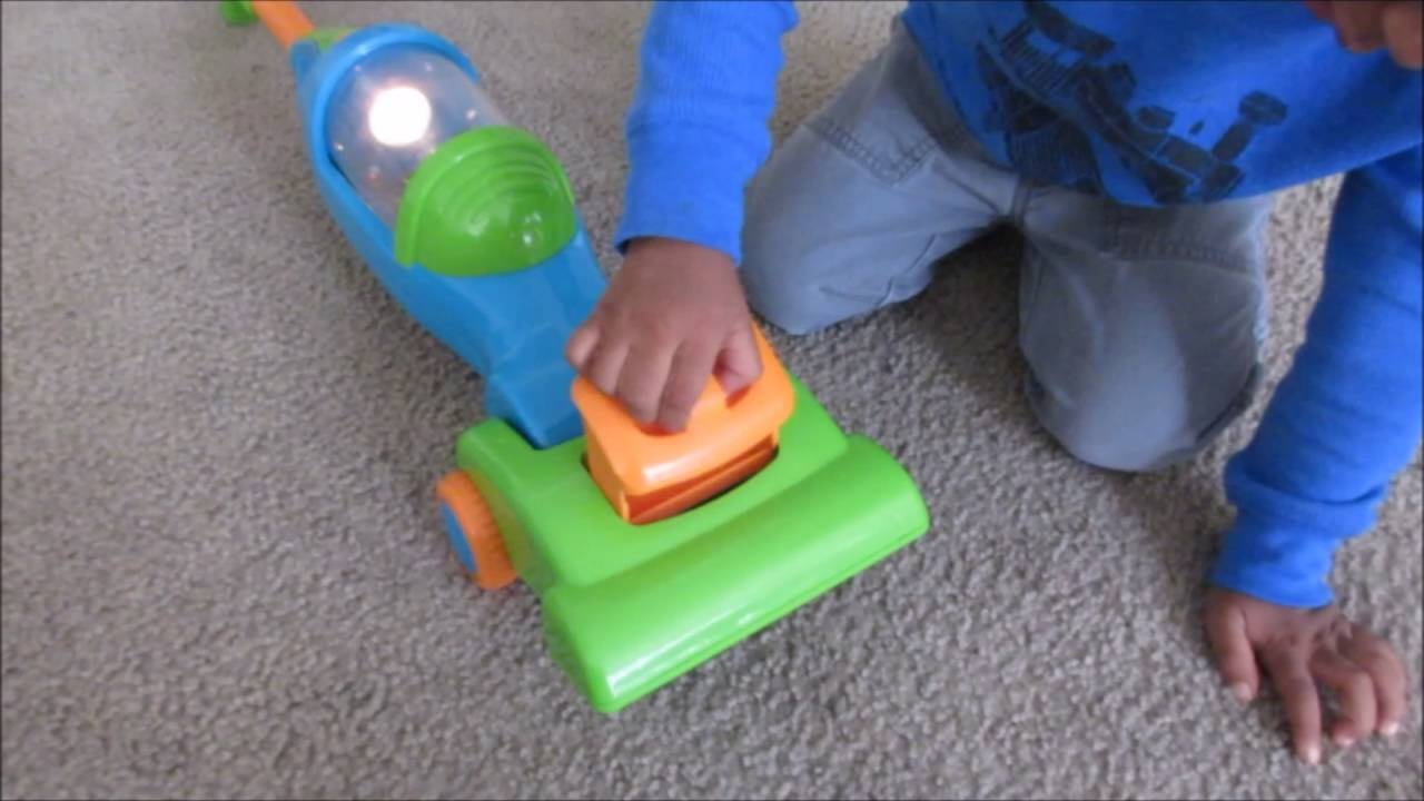toy vacuum my light up vacuum cleaner youtube. Black Bedroom Furniture Sets. Home Design Ideas