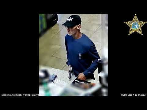 Florida News - Hillsborough Deputies Look for This Armed Robbery Suspect